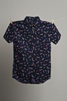 Xp. Sea Sailing Shirt - Navy
