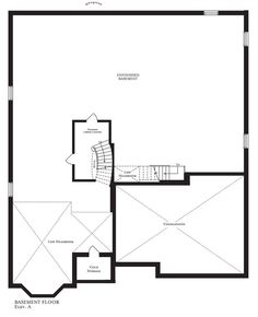 Kentucky Derby Basement Kentucky Derby, Bedroom With Ensuite, Basement Flooring, Open Concept, New Homes, Floor Plans, Design, New Home Essentials, Open Plan