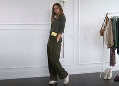 11 Fall Outfit Ideas & Trends For 2020 | Fall Lookbook — Valeria Lipovetsky Outfits For Teens, Fall Outfits, Valeria Lipovetsky, Gucci Loafers, Fall Lookbook, Oversized Blazer, Jean Top, Wool Suit, Fall Looks
