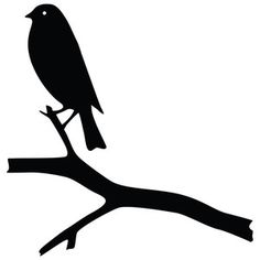 Silhouette Design Store - View Design #127775: bird tree
