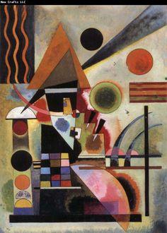 wassily kandinsky famous paintings   Wassily Kandinsky Shaking