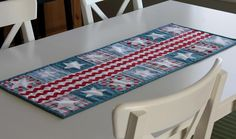 Looking for your next project? You're going to love Patriotic Parade Table Runner pattern by designer A Bright Corner. - via @Craftsy
