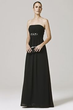 2012 Affordable Empire Strapless Floor-length Bridesmaid Dress Style JOANNA, bridesmaid dresses