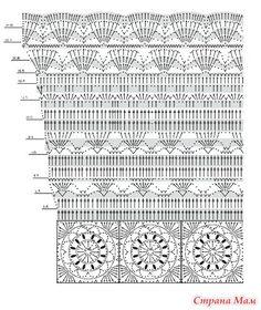 """Прекрасное ажурное платье выполнено красивыми узорами и мотивами украсит ваш гардероб. Размер 348 40"""". Для размера 348 используются крючки 2.5-3. Для размера 40"""" крючки 3-3.5"""