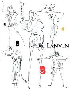 """""""Lanvin's fall/winter 2011 campaign"""" Karen Elson, Raquel Zimmermann and Alber Elbaz dancing!!! amazing video is HERE. ランバンのfall2011キャンペーンビデオがすごい! カレン・エルソン、ラケル・ジマーマン、そしてアルベール・エルバスが踊ってますよ!! コチラでチェックして!"""