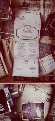 Love this invitation from Weddings Vintage!!