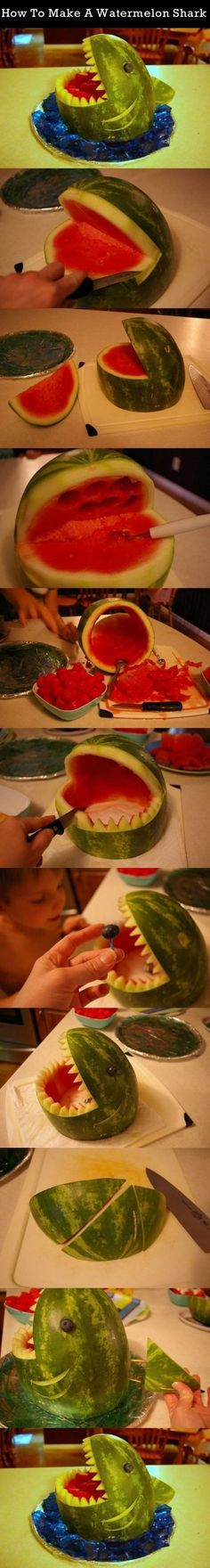 How To Make A Watermelon Shark Pictures, Photos, and Images for Facebook, Tumblr, Pinterest, and Twitter