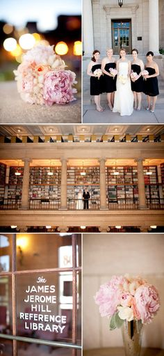 library wedding, totally reminds me of the wedding in sex and the city! look how that turned out. Wedding Wishes, Wedding Bells, Our Wedding, Dream Wedding, Wedding Themes, Wedding Styles, Wedding Photos, Wedding Decorations, Wedding Ideas