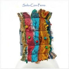DAIKINI - Armband, Sari-Seide von °Solo-Con-Perro° http://de.dawanda.com/shop/Solo-Con-Perro