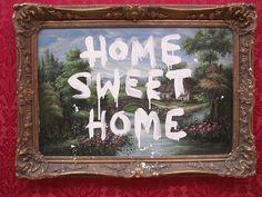 Banksy Home Sweet Home