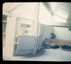 Skolnik residence, Los Angeles, Calif., 1952 :: Architectural Teaching Slide Collection