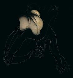 erotismoerotisme:  Hans Bellmer. Bound, Unica Zürn. 1959