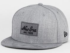 Patch Heather Grey Suede 59Fifty Fitted Baseball Cap by NEW ERA Fitted Baseball  Caps ab091ae1882d