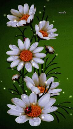 Decent Image Scraps: Flowers
