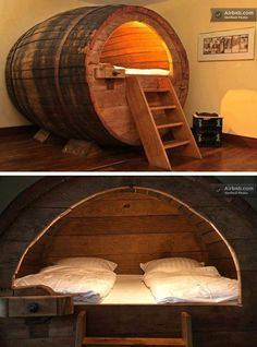 Cute bedroom idea for the younger ones...