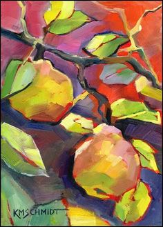 Karen Maithison Schmidt Artwork of Pear Tree♥♥