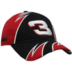 NASCAR Chase Authentics Dale Earnhardt Fragment Adjustable Hat - Red/Black - http://www.autosportsart.com/nascar-chase-authentics-dale-earnhardt-fragment-adjustable-hat-redblack - http://ecx.images-amazon.com/images/I/419hX3HC05L.jpg