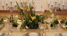 Signature table setting at Petroff Palace for the gala event by White Sposa Russia. Design, concept and flower arrangements by Fabio Zardi Luxury Wedding, Destination Wedding, Wedding Planning, Wedding Decorations, Table Decorations, Gala Dinner, Moscow, Flower Designs, Floral Wedding