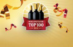 Wine Spectator Top 100 Wines 2012