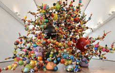 "meatbelts: ""Kristof Kintera - Demon of the Growth II "" Modern Art, Contemporary Art, Appropriation Art, Internet Art, New Media Art, Feminist Art, Color Blending, Installation Art, Art Installations"