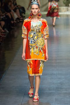 Dolce and Gabbana, Spring Summer 2013, Ready to Wear
