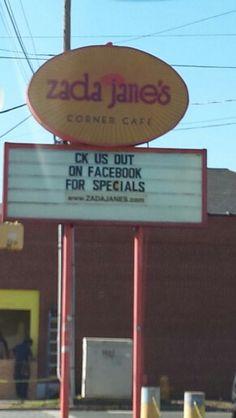 Zadas Corner Cafe in Noda Charlotte