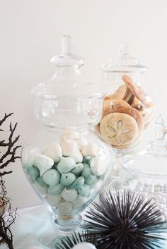 Sweetly swoon with me over this Majestic Under the Sea Birthday Party featured here at Kara's Party Ideas. Mermaid Birthday, 1st Birthday Girls, Birthday Parties, Bubble Party, Lumberjack Party, Water Party, Mermaid Cakes, Under The Sea Party, Partys