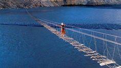 Post with 0 votes and 24 views. Breathtaking Suspension Bridge in Passu Gojal, Gilgit Baltistan, Pakistan Mexico Travel, Hawaii Travel, Asia Travel, Places Around The World, Around The Worlds, Beach Watch, Hunza Valley, Gilgit Baltistan, Suspension Bridge