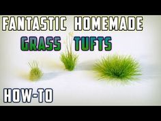 DIY Static Grass Tufts | Model Railroad Hobbyist magazine | Having fun with model trains | Instant access to model railway resources without barriers
