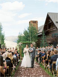 Mountain Wedding At The Ritz Carlton Bachelor Gulch In Beaver Creek Colorado Near Vail Pinterest