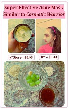 * Maria's Self *: How to Make Super Effective Mask for Break-Out Times. Similar to Cosmetic Warrior but MUCH Cheaper. Easy and Quick DIY Recipe. Beauty Care, Diy Beauty, Beauty Skin, Health And Beauty, Beauty Hacks, Cosmetic Warrior, Homemade Cosmetics, Homemade Beauty Products, Lush Products
