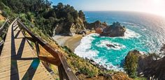 Big Sur, California Even if you've never cruised down the Pacific Coast Highway, you've definitely seen the breathtaking coastline and famous Bixby Canyon Bridge in nearly every car commercial ever made (or in HBO's Big Little Lies, of course). Getty  via @AOL_Lifestyle Read more: https://www.aol.com/article/lifestyle/2017/06/27/most-photogenic-breathtaking-spots-america/23004406/?a_dgi=aolshare_pinterest#fullscreen