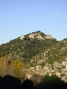 Château de Termes is a ruined castle near the village of Termes in the Aude département of France. It is one of the so-called Cathar castles.
