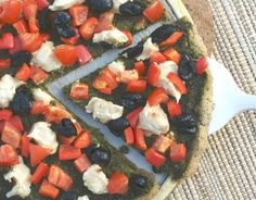 #Grainfree #vegan Pizza Crust! @rickiheller