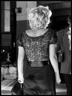 """Image - 1956 / Sur le tournage du film """"Bus stop"""". / AUTOUR DU FILM / - Marilyn-MONROE rare & candid - Skyrock.com"""
