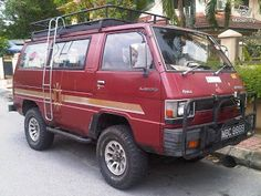 The Mitsubishi van is often considered a poor man's VW Syncro Transporter. Although it does not have the standard differential loc. 4x4 Camper Van, 4x4 Van, Vw Syncro, Bug Out Vehicle, Car Mods, Campervan, Van Life, Jdm, Caravan