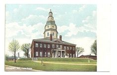 Annapolis Maryland State House Unposted Vintage Postcard