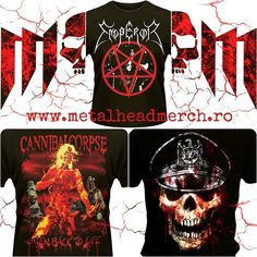 #metalheadmerch #romania #tricou #tricouri #slayer #emperor #cannibalcorpse Cannibal Corpse, Metalhead, Emperor, Romania, Instagram Posts, Movies, Movie Posters, Life, Art