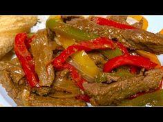 Fajitas de Res - Comida Mexicana - YouTube Mexican Food Recipes, Mexican Meals, New Mexican, Beef, Aldo, Youtube, Vestidos, Beef Fajita Recipe, Mexican Recipes