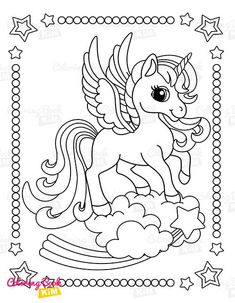 A sweet coloring book full of merry and funny unicorns. Fun adventures of unicorns that meet various animals, fly balloons, dance at the disco, meet fairies and jump on a rainbow. Unicorn Coloring Pages, Coloring Pages For Kids, Coloring Books, Amazing Adventures, Balloons, Fairy, Snoopy, Rainbow, Animals