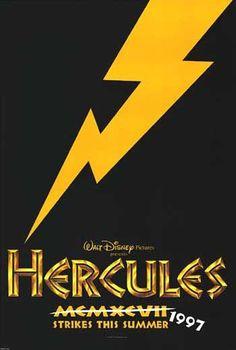 Hercules original theatre poster