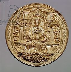 Obverse of the seal of Henry VIII