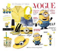 """""""50 shades of minions"""" by lisalam10 ❤ liked on Polyvore"""
