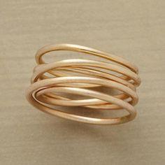 wire twist ring