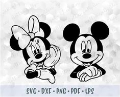 Minnie Mouse Clipart, Mickey Minnie Mouse, Mickey Coloring Pages, Disney Movies To Watch, Disney Silhouettes, Disney Art, Disney Tees, Mandala Art Lesson, Cricut Craft Room