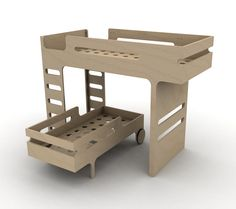 Plywood Trundle/Bunk Bed
