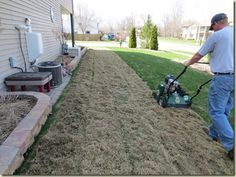 Garten dethatching Lawn Care Tips A beautiful lawn does not come without some effort.