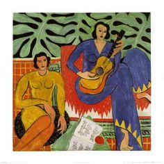 Music, c.1939 Art Print by Henri Matisse at Art.com