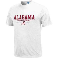 NCAA - Men's Alabama Crimson Tide Short-Sleeve Tee Alabama Shirts, Alabama Crimson Tide, Roll Tide, Short Sleeve Tee, Tees, Walmart, Mens Tops, Fashion, Moda