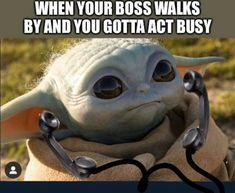Today's Morning Mega Memes Silly Memes, True Memes, Funny Jokes, Fuuny Memes, Funny Commercials, Yoda Meme, Yoda Funny, Pretty Meme, S Quote